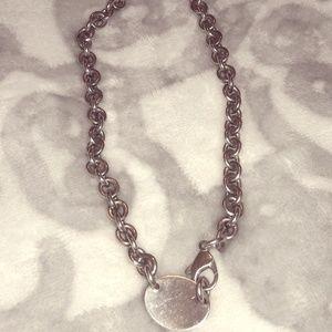 Tiffany & Co. Jewelry - Authentic Tiffany & Co Return to Tiffany choker